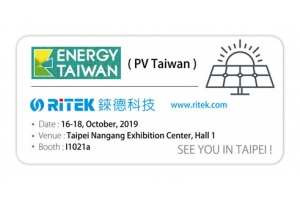2019 Energy Taiwan (PV Taiwan), Welcome to visiting us.