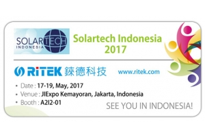 2017 Solartech Indonesia, Welcome to RITEK booth!